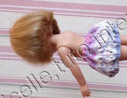 tuto gratuit  poupée  : jupe d'été