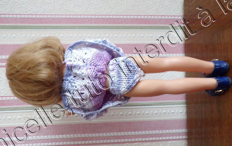 tuto gratuit poupée  : petite culotte en coton multicolore