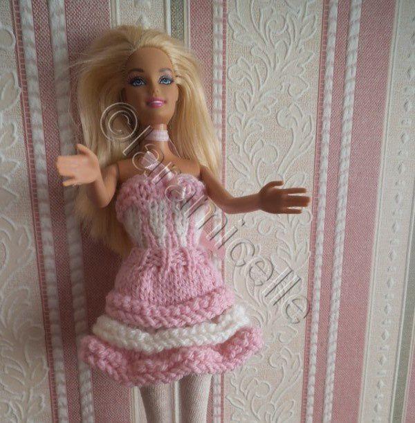 tuto gratuit barbie : jupe à volants