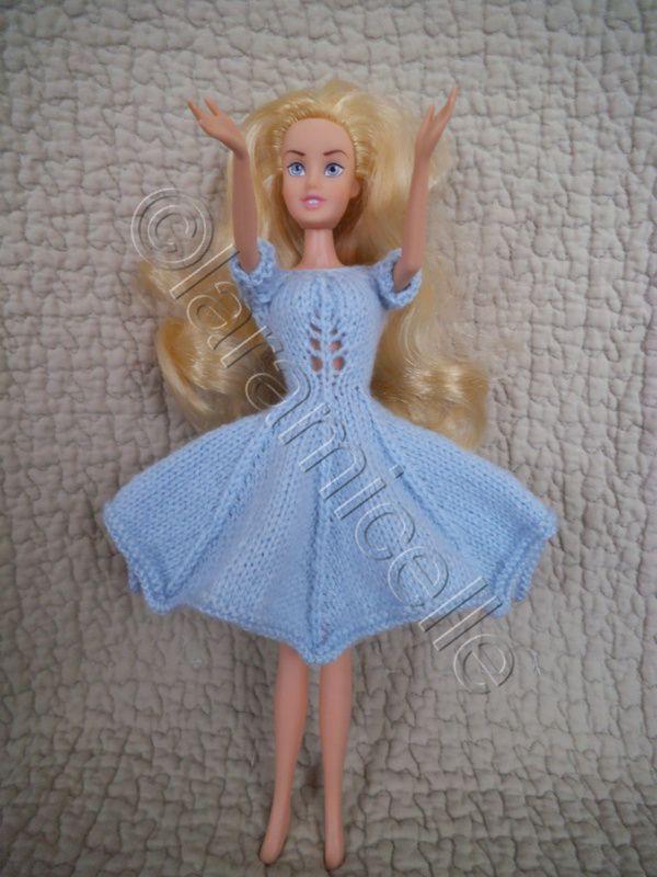 tuto gratuit barbie, robe corsetée