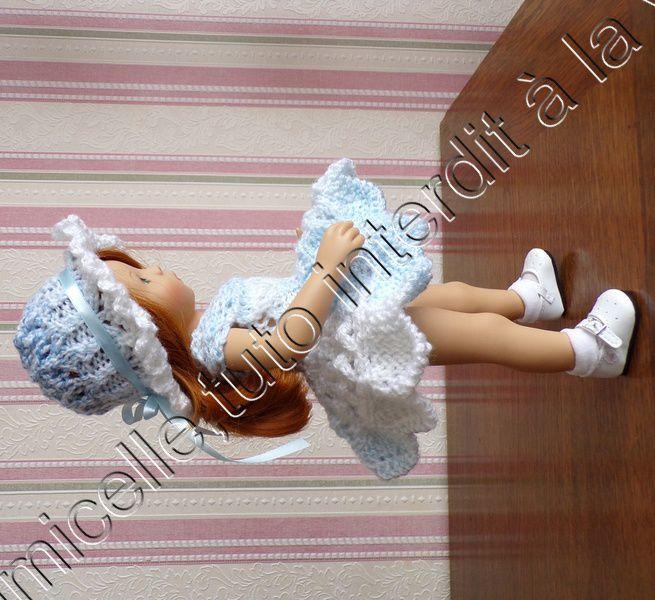 tuto gratuit poupée : capeline