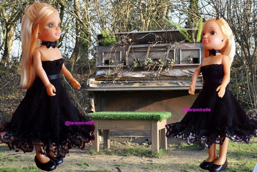 tuto gratuit Barbie  : princesse Florine