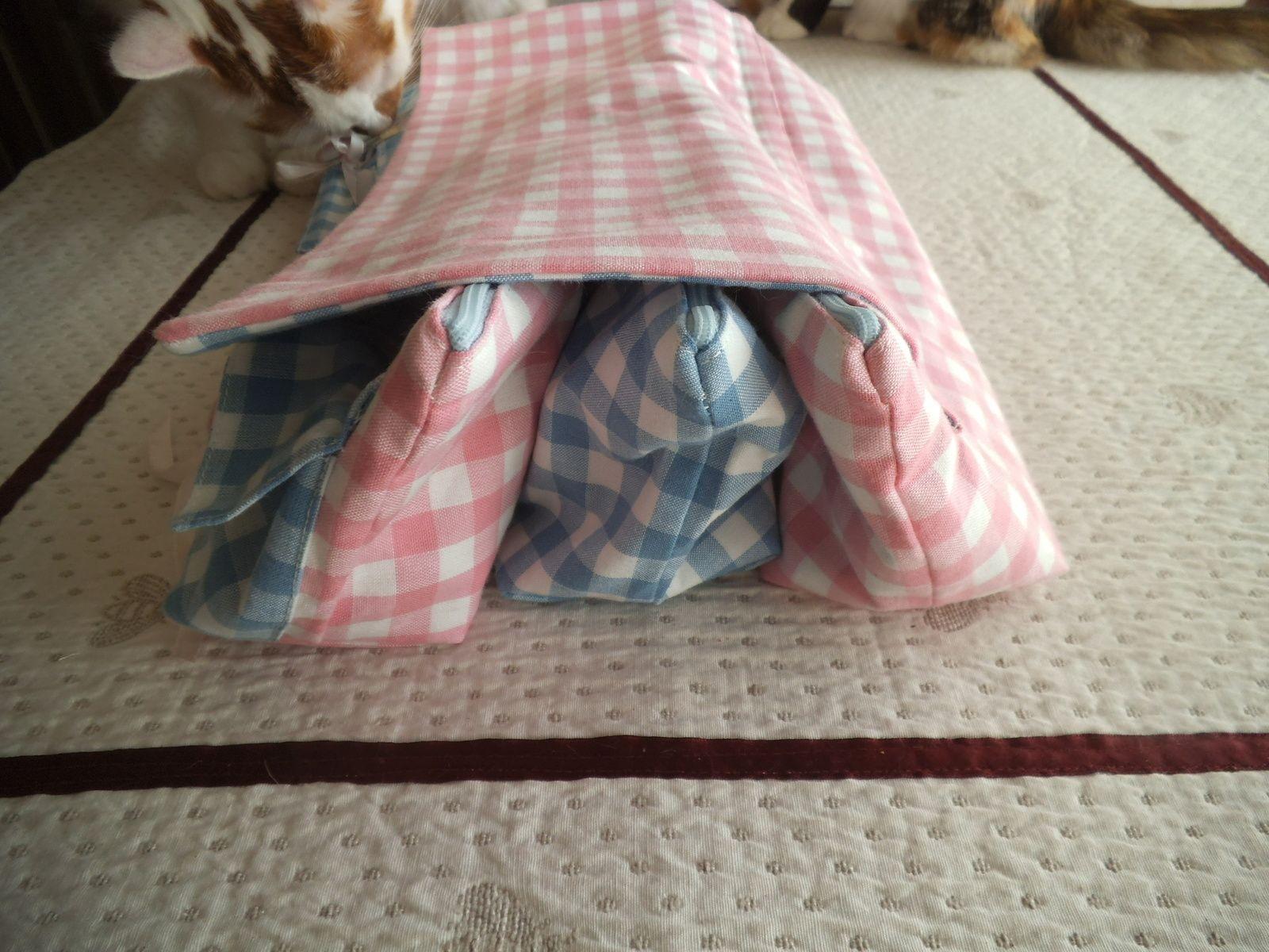 Ma pochette pour aiguilles à tricoter idéale