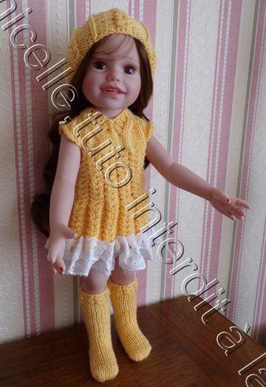 tuto gratuit poupée: bonnet à mailles croisées