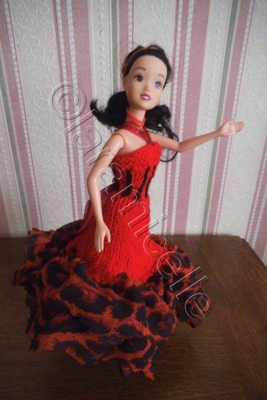 tuto gratuit barbie : robe corsetée