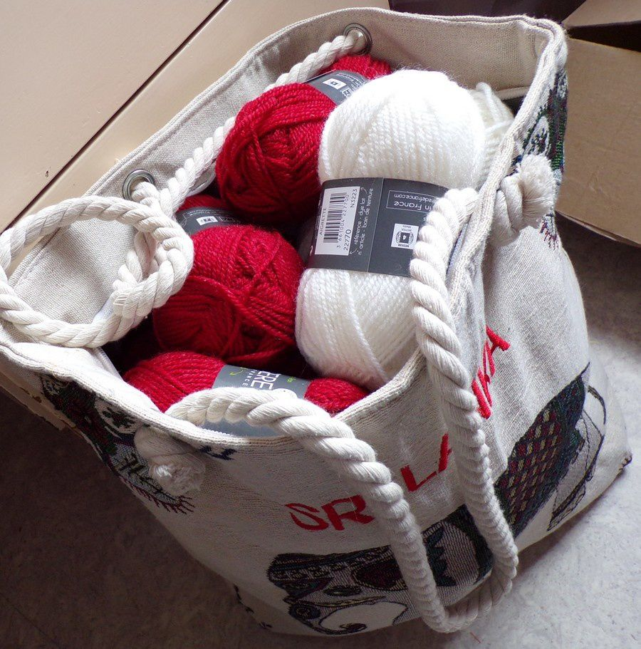 merci Zibou  et rangement de ma laine