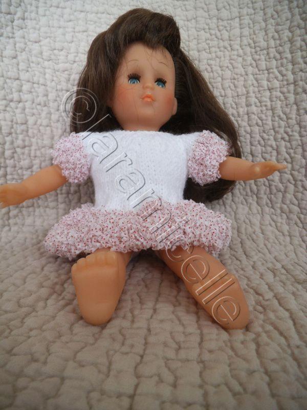 tuto gratuit poupée: robe taille basse façon dentelle