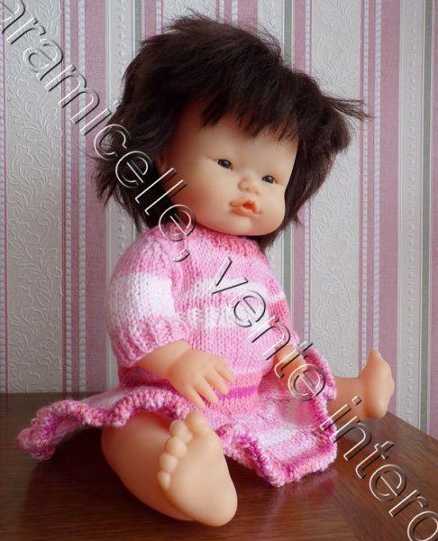 tuto gratuit poupée  : robe au tourbillon