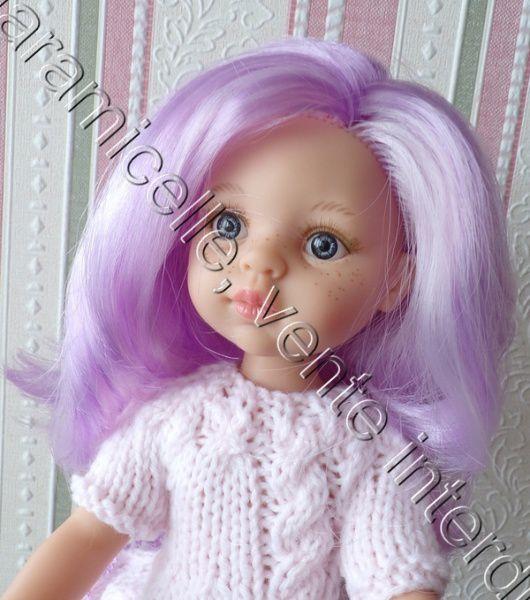 tuto gratuit poupée  : robe à la torsade et dentelle