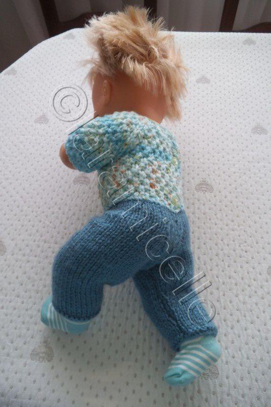 tuto  gratuit poupée nenuco : pantalon