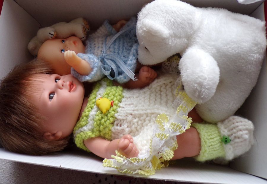 les poupées de Margotte sont parties