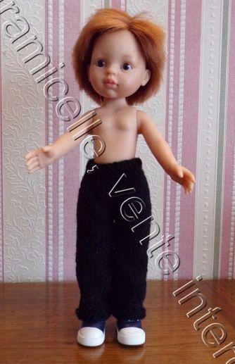 tuto gratuit poupée  : pantalon