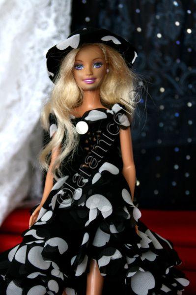 tuto gratuit barbie : robe longue de fête