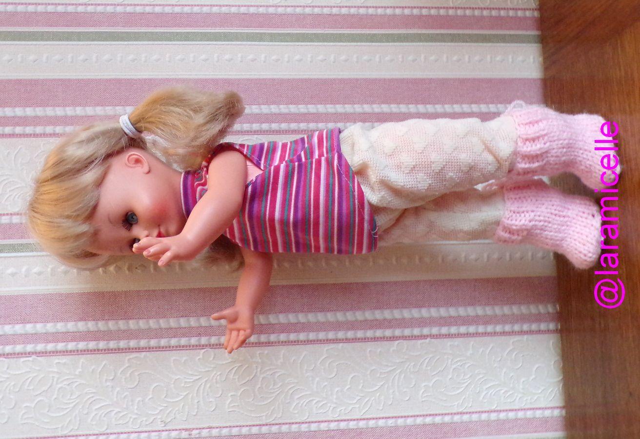 tuto gratuit  poupées  : bottines