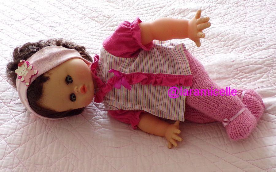 tuto gratuit  poupée : pantalon avec pieds