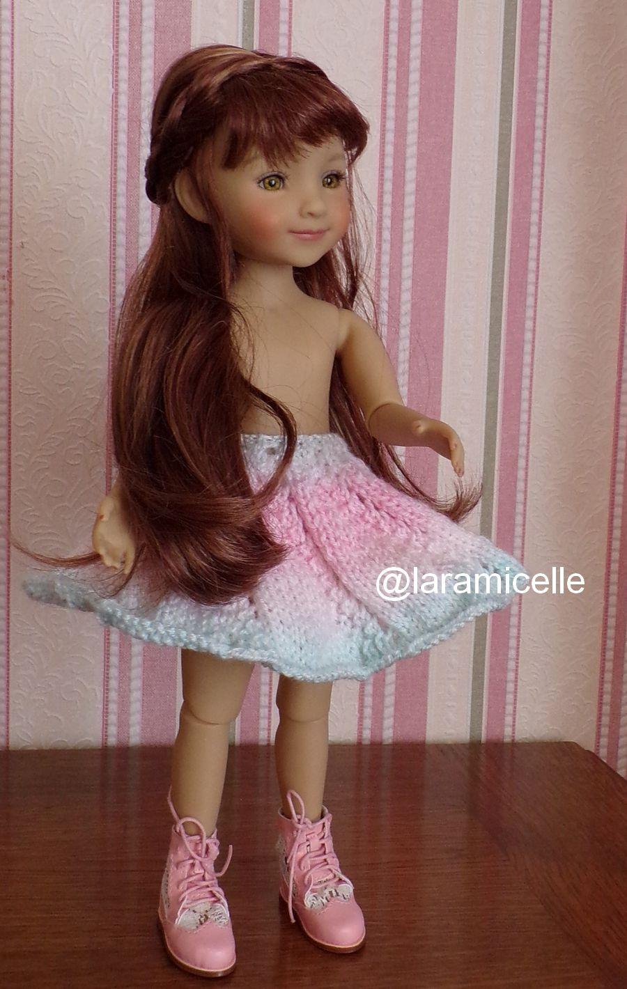 tuto gratuit poupée : jupe tourbillon fantaisie