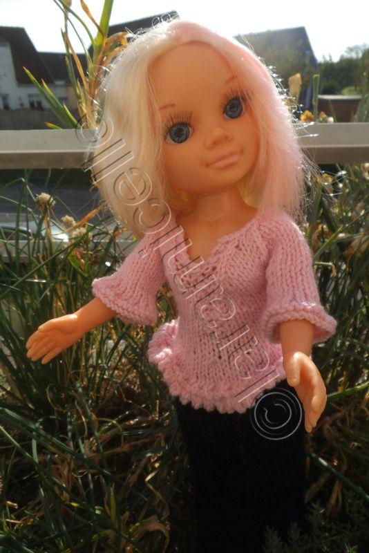 tuto gratuit poupée nancy: tunique décontractée