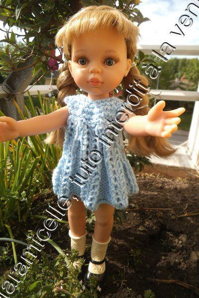 tuto gratuit poupée paola reina/ chérie de corolle : robe estivale à troutrous