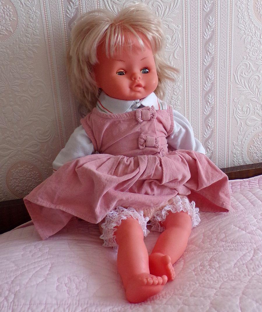 tuto gratuit poupée : panty à dentelle
