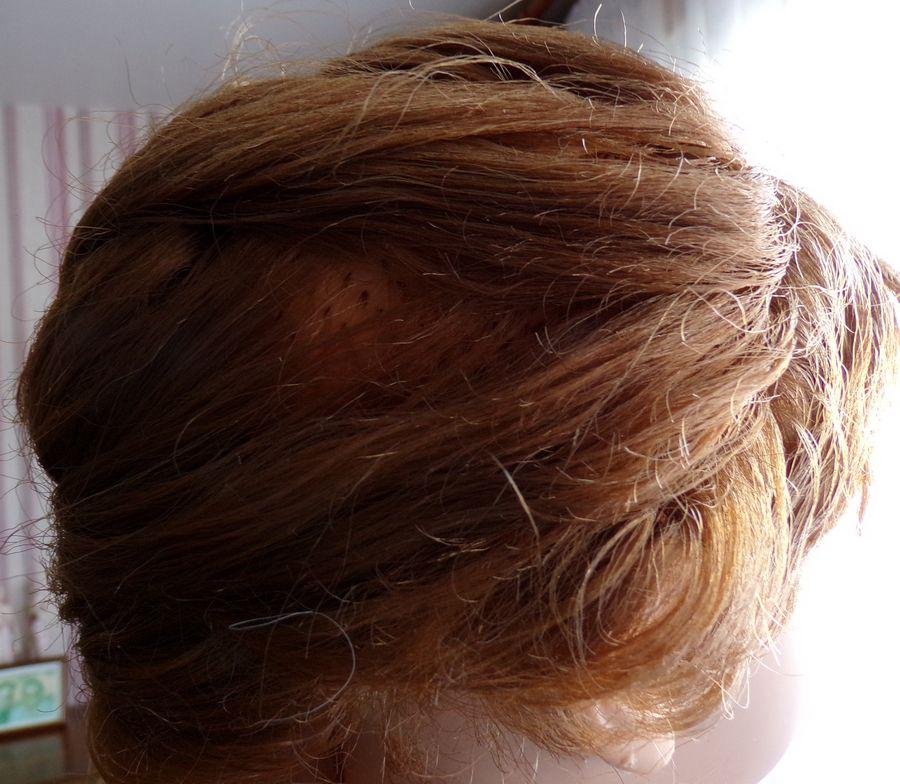 nouvelle coiffure et début de tenue pour ma Bella Dominique