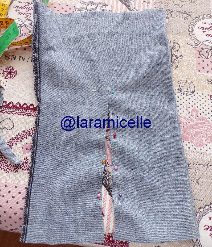 tuto gratuit poupée  : faire un jean à une poupée même quand on ne sait pas coudre