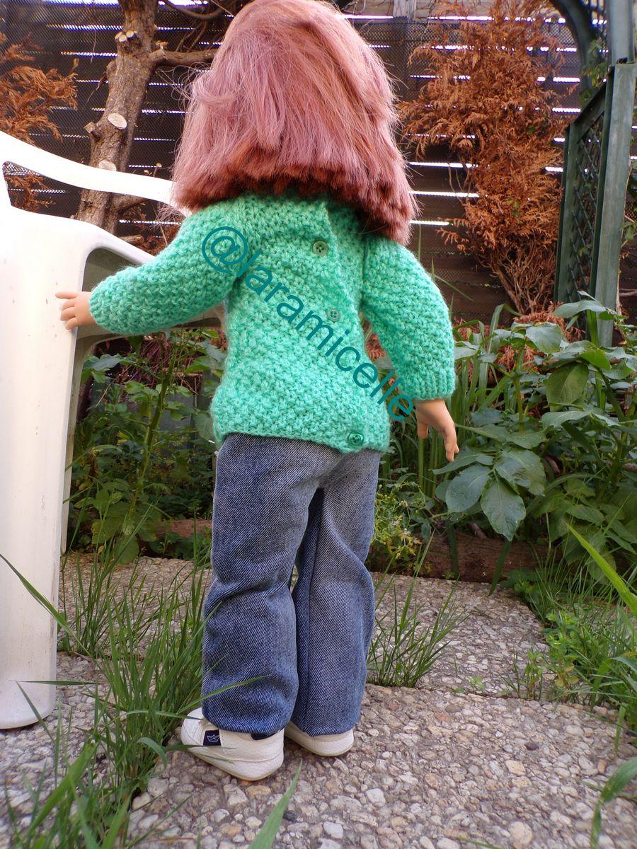 tuto gratuit poupée  : tunique irlandaise