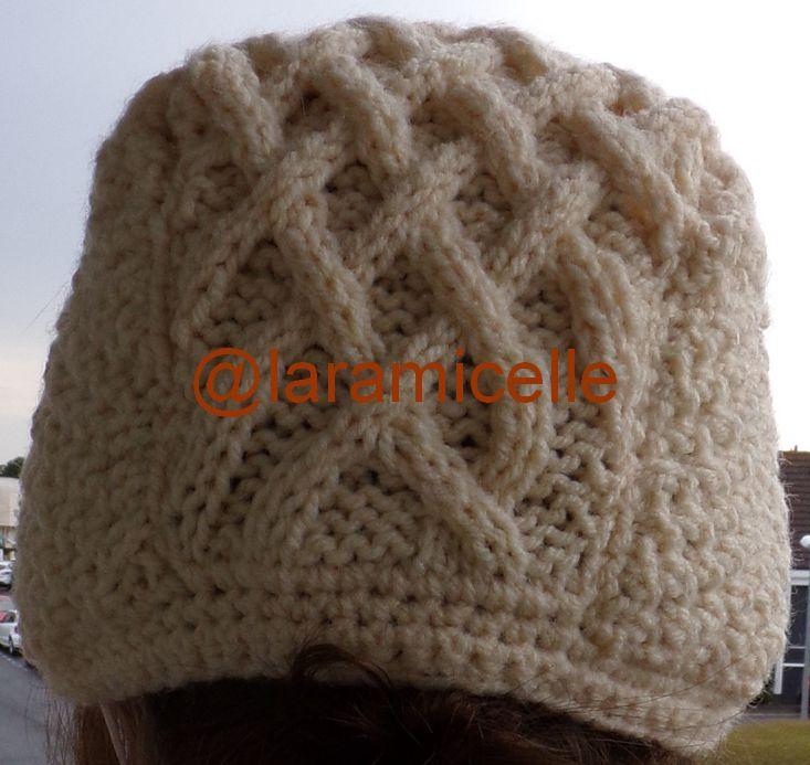 tuto gratuit  pour femme : casquette irlandaise