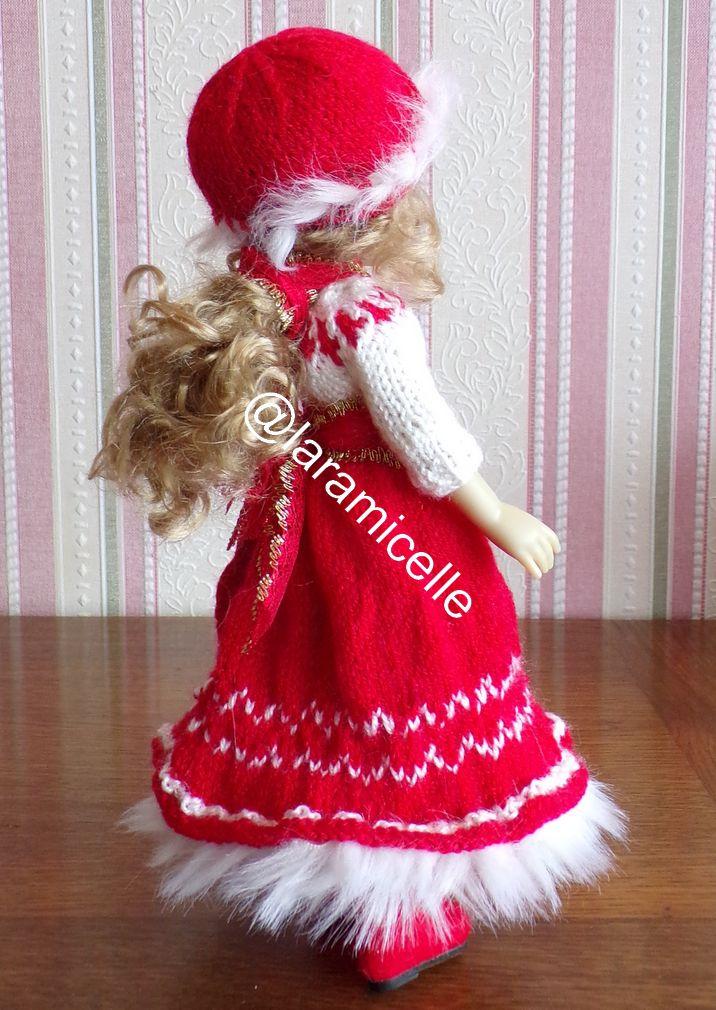 tuto gratuit poupée  : bonnet d'hiver