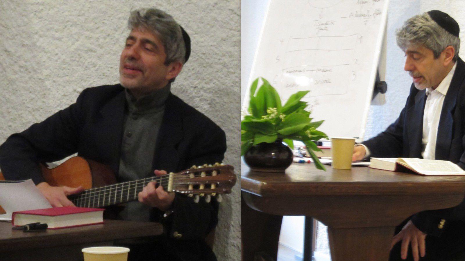 Le rabbin Philippe Haddad à Béthanie