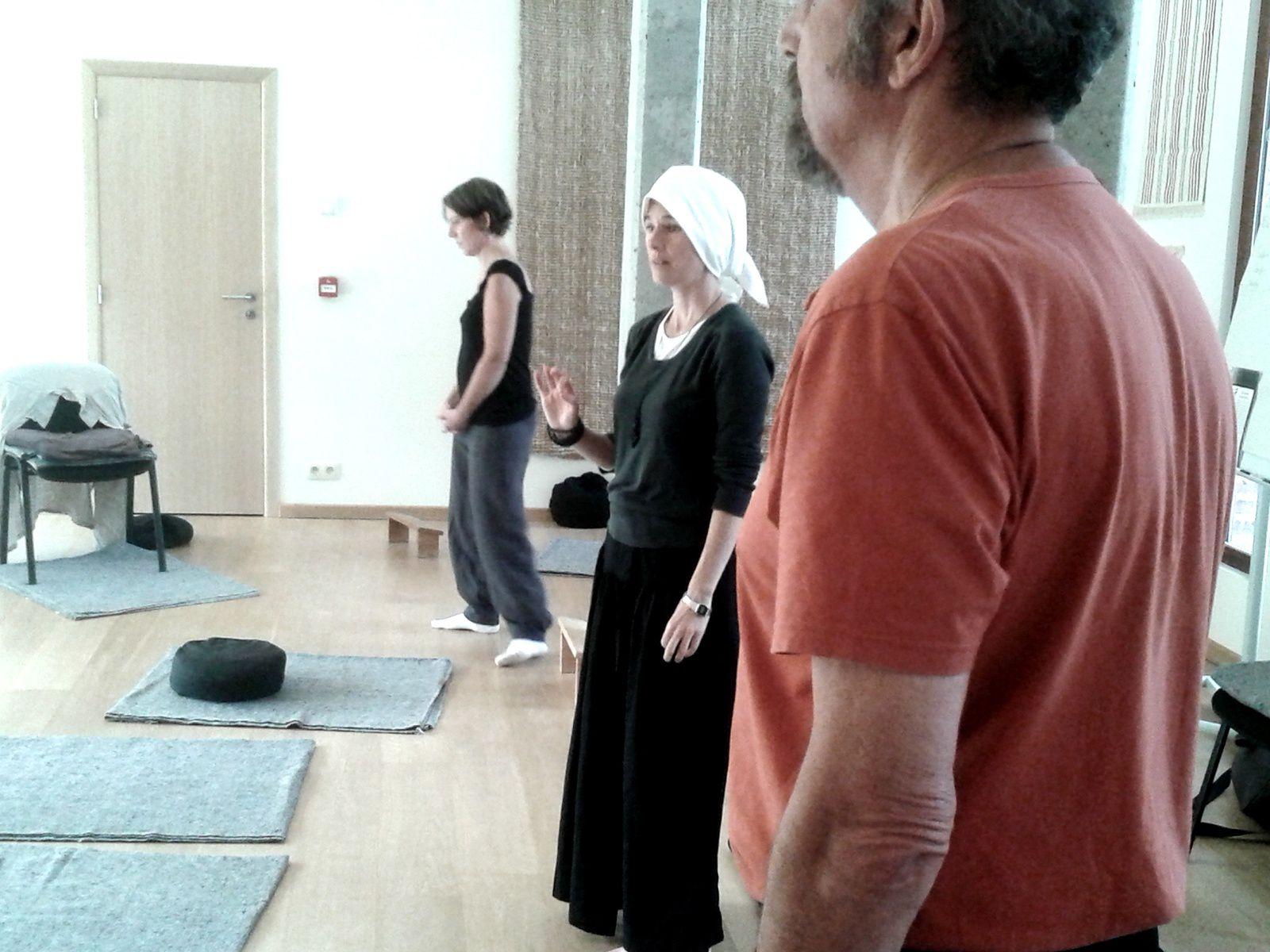 Session du Hara à Bruxelles avec le Père Francis (photos)