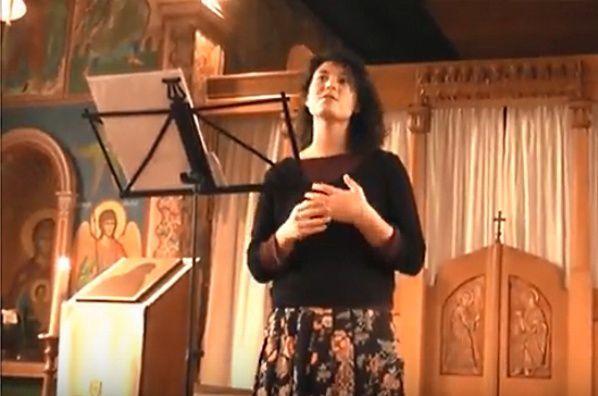 Chants chrétiens d'orient avec Fanny Perrier-Rochas