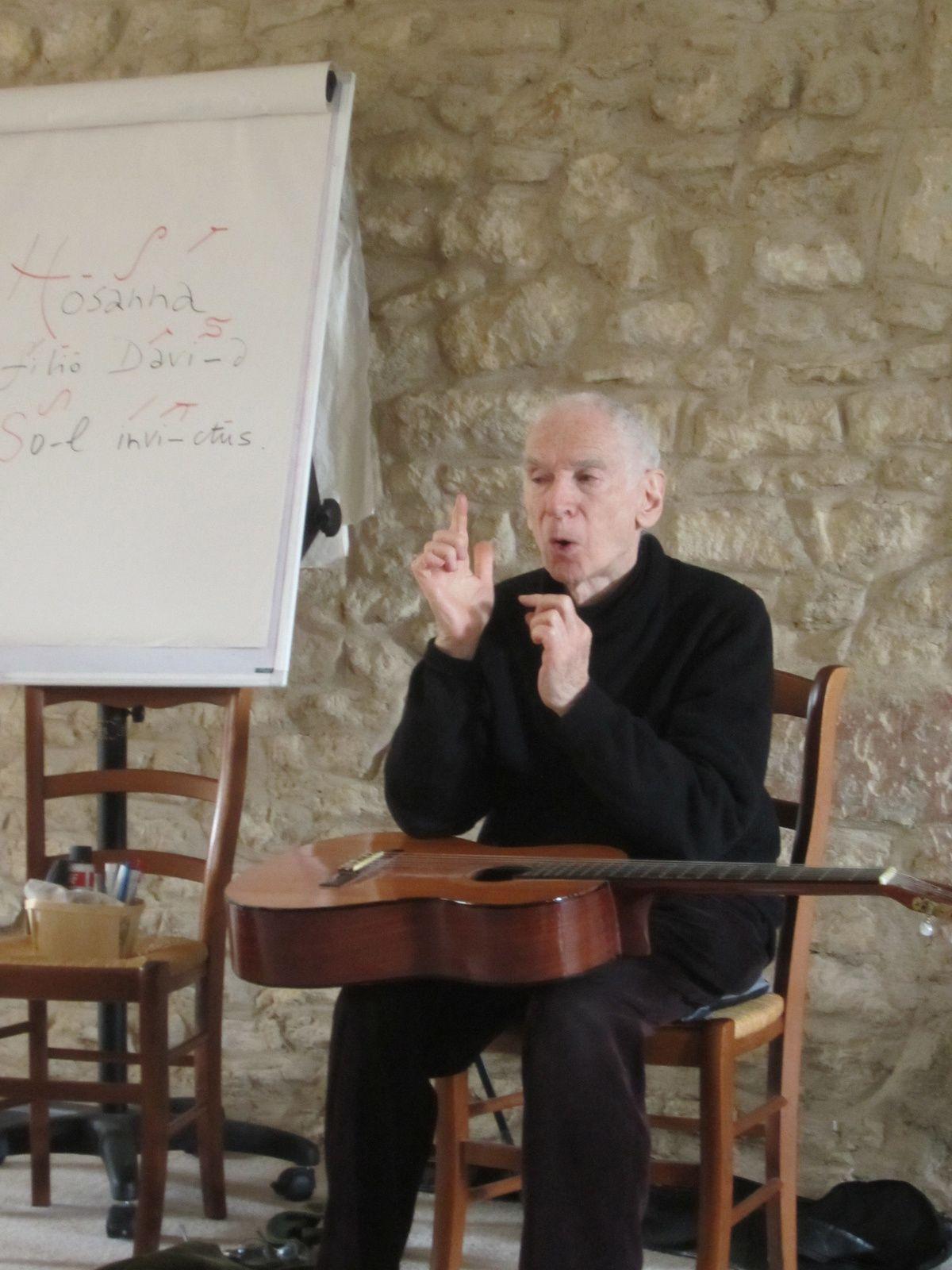 Photos de la session : Chanter avec Iégor REZNIKOFF
