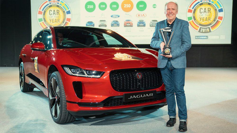 Jaguar I-Pace, élu voiture de l'année!
