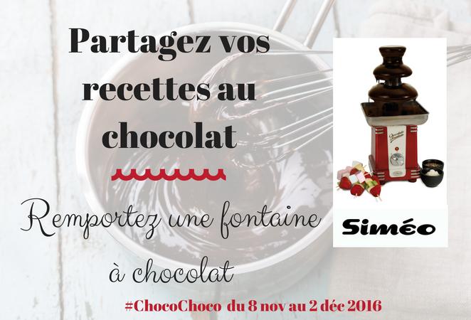 Nouveau défi : #ChocoChoco