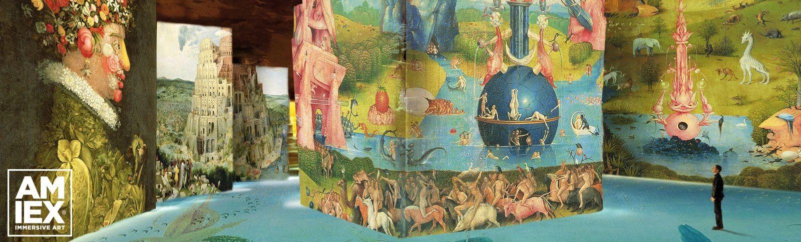 Exposition immersive:  Bosch, Brueghel, Arcimboldo - Fantastique et merveilleux