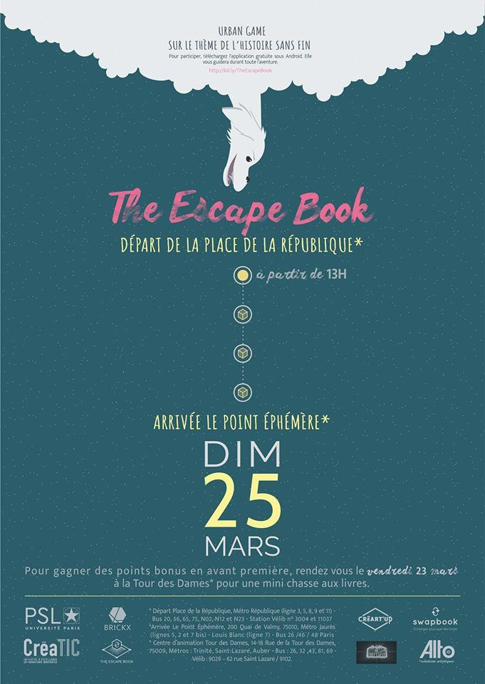 The Escape Book, jeu de piste dans Paris