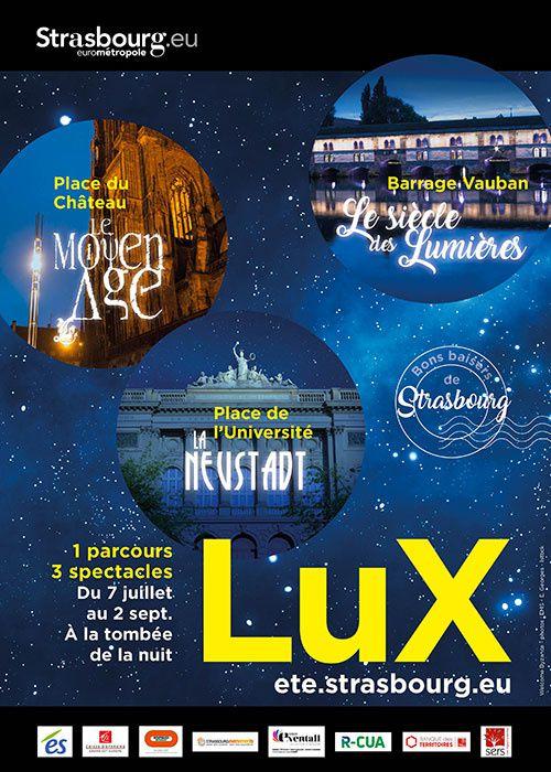 LUX, son et lumière à Strasbourg