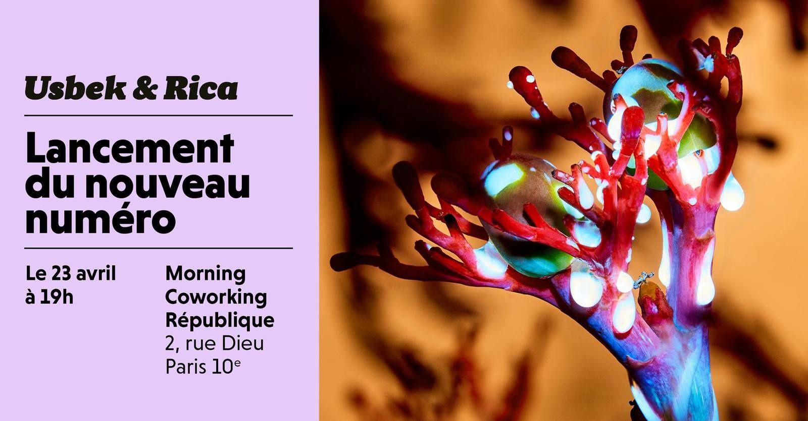 Lancement du dernier magazine Usbeck & Rika