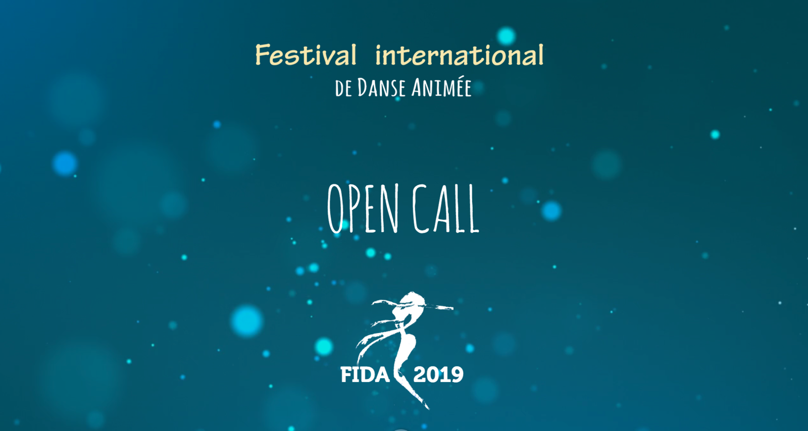 OPEN CALL // FIDA2019