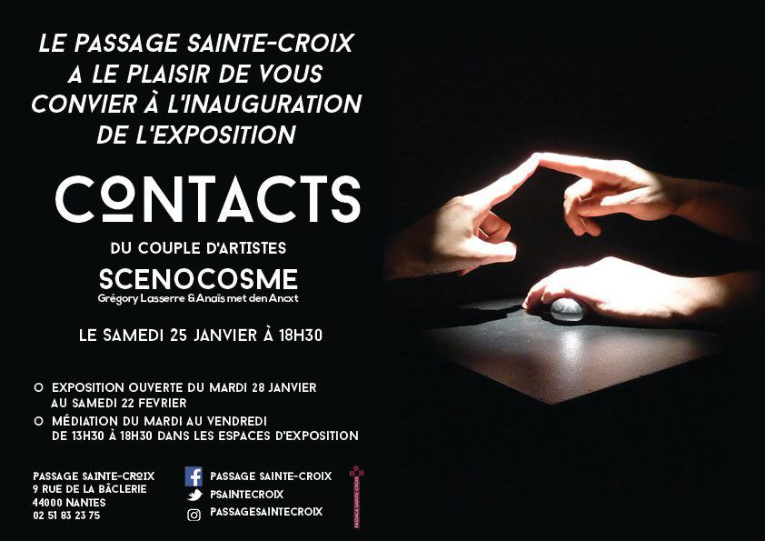 Exposition « Contacts » de Scenocosme