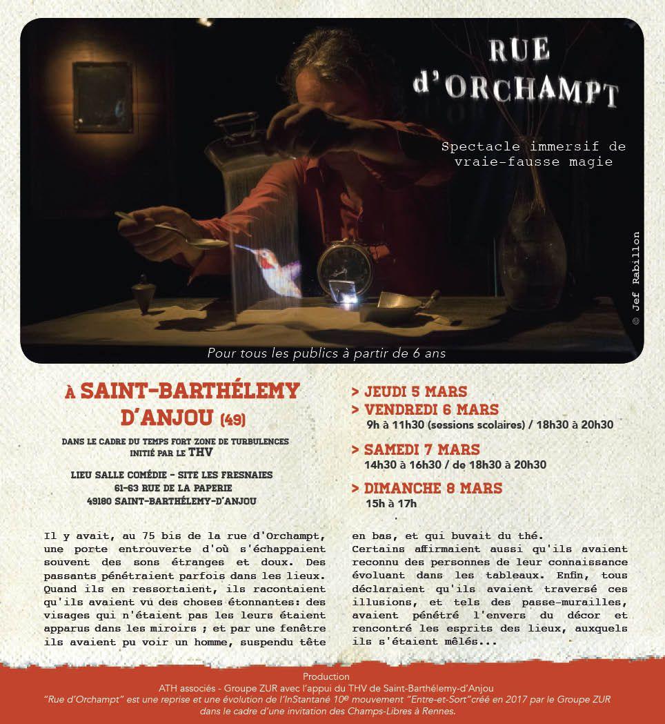 Rue d'Orchampt / Groupe ZUR