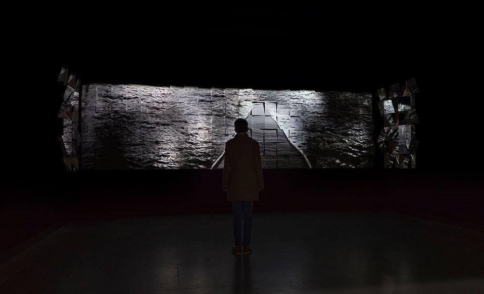 2020 - FLEUVES / VIDEOFORMES 2020 - Création dans le cadre la résidence Mémoires croisées de l'Hôpital Sainte Marie - Chapelle de l'ancien hôpital général à Clermont-Ferrand