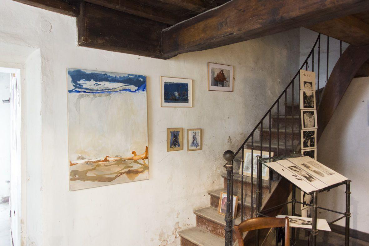 Véronique Born, peinture à la maison Mengus