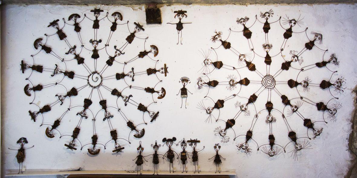 Peintures et sculptures  d'Alexis Lask (artiste à Eus)