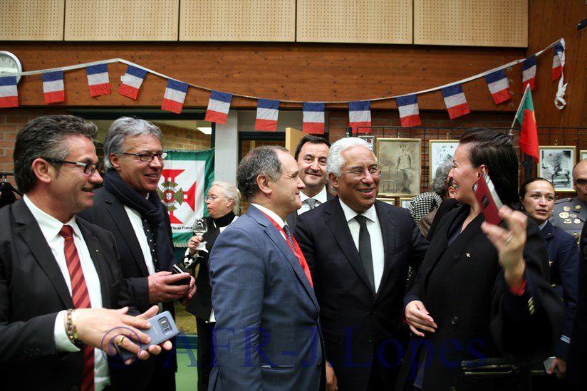 Cerimónias comemorativas do centenario da batalha de La Lis
