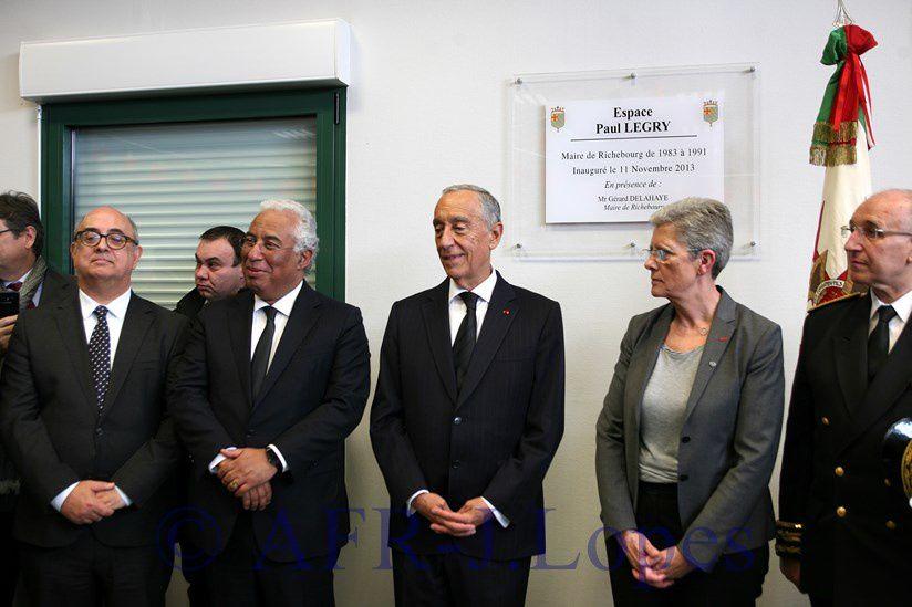 Cerimónias comemorativas do centenario da batalha de La Lis - Condecorações