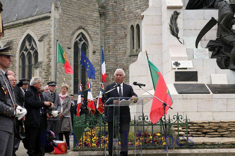 Cerimónias comemorativas do centenario da batalha de La Lis - La Couture