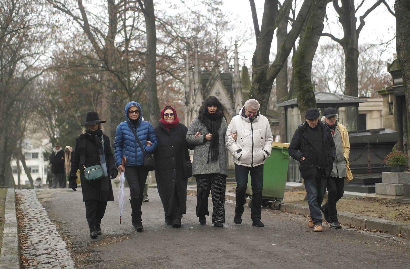 Arlette Gordon, Martine Lelouch, soeur de Claude, Anouk Aimée, Valérie Perrin compagne de Claude Lelouch