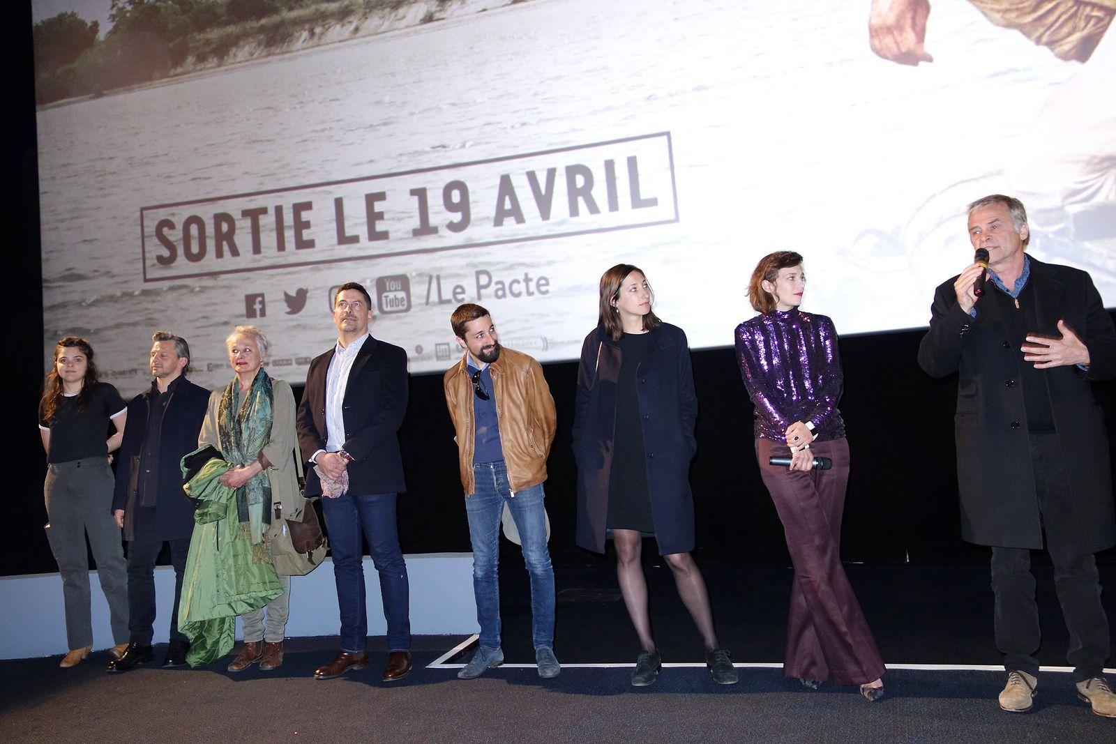 CELINE SALLETTE à l'avant-première du film CESSEZ LE FEU (18/04/2017)