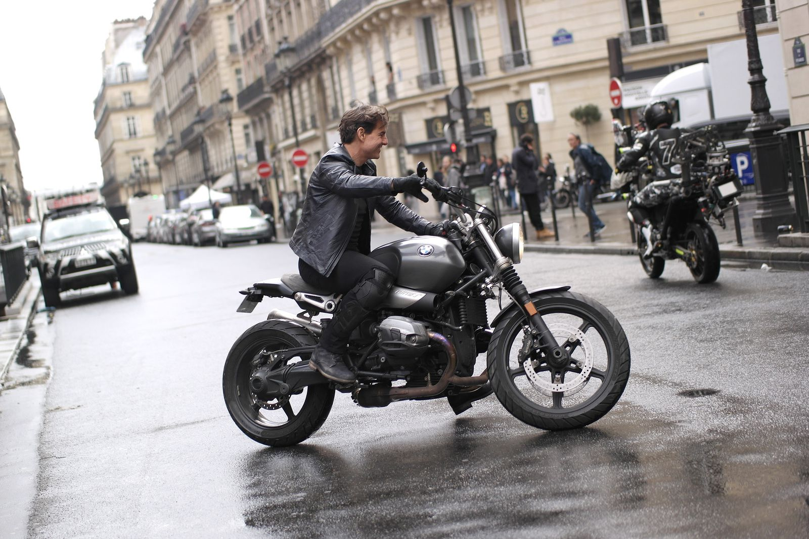 La moto camera film Tom Cruise